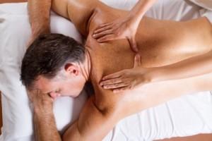giving a massage
